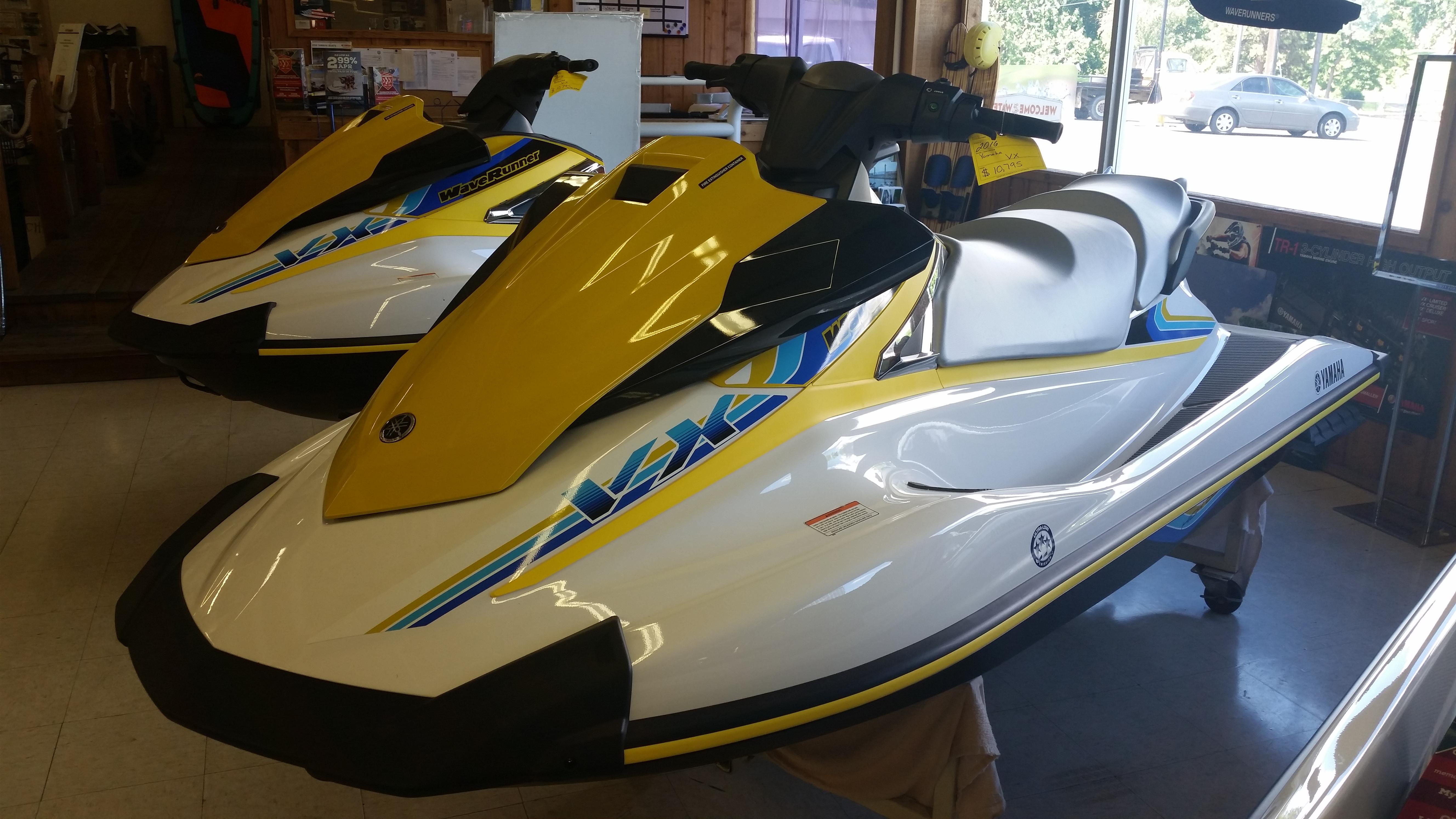 Yamaha boats for sale riverview marina for Yamaha waverunner vx