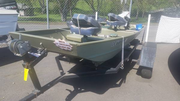2013 crestliner cr 1236 riverview marina for Yamaha lewiston id