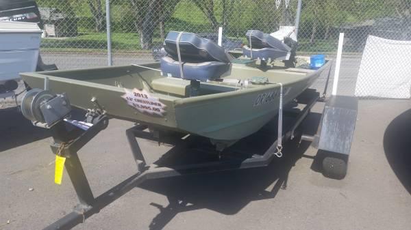 2013 crestliner cr 1236 riverview marina for Yamaha lewiston id