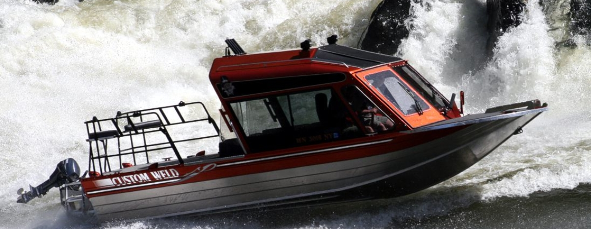 Featuring Custom Weld Aluminum Boats