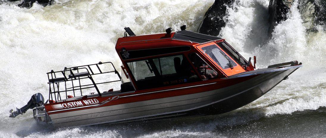 Featuring Custom Weld Aluminum Boats